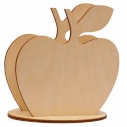 Serwetnik ze sklejki jabłko
