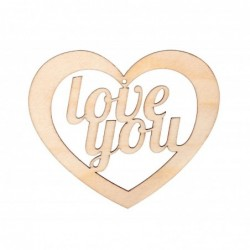 Serce love you zawieszka ze...