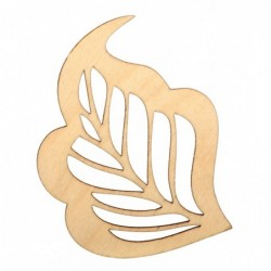 Listek ażur ze sklejki 8cm