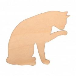 Kotek łapka ze sklejki 7cm