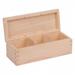 Pudełko drewniane na...