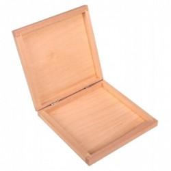 Pudełko drewniane na płyty...