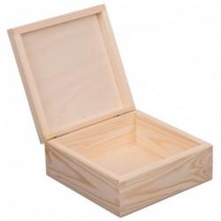 Pudełko drewniane 16x16cm