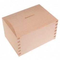 Skarbonka drewniana kuferek...