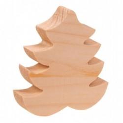 Choinka z drewna 9cm