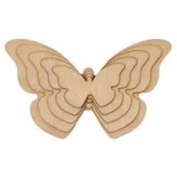 Motyle ze sklejki 5w1