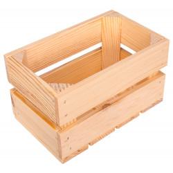 Skrzynka drewniana 20,5x12,5cm