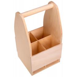 Drewniana skrzynka,...