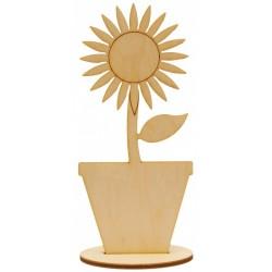 Słonecznik na podstawce ze...